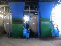 Kotłownia 2 x 5 MW w trakcie pracy